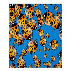 Cartoon Ladybug Shower Curtain 60  x 72  (Medium)
