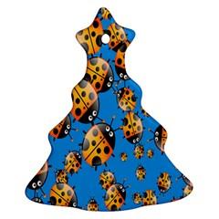 Cartoon Ladybug Ornament (Christmas Tree)