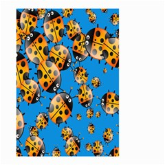 Cartoon Ladybug Small Garden Flag (Two Sides)