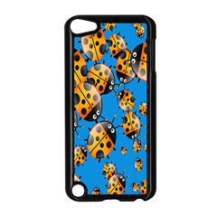 Cartoon Ladybug Apple iPod Touch 5 Case (Black)