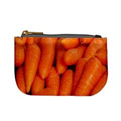 Carrots Vegetables Market Mini Coin Purses