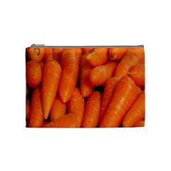 Carrots Vegetables Market Cosmetic Bag (Medium)