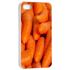 Carrots Vegetables Market Apple Iphone 4/4s Seamless Case (white)