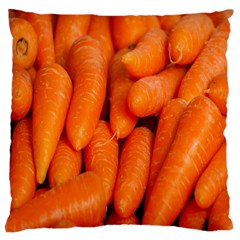 Carrots Vegetables Market Large Cushion Case (two Sides)
