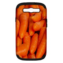 Carrots Vegetables Market Samsung Galaxy S III Hardshell Case (PC+Silicone)