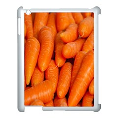 Carrots Vegetables Market Apple iPad 3/4 Case (White)