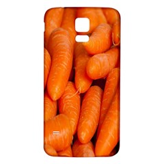 Carrots Vegetables Market Samsung Galaxy S5 Back Case (White)