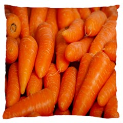 Carrots Vegetables Market Large Flano Cushion Case (two Sides)