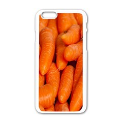 Carrots Vegetables Market Apple Iphone 6/6s White Enamel Case