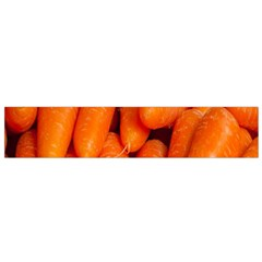 Carrots Vegetables Market Flano Scarf (small)