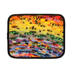 Car Painting Modern Art Netbook Case (Small)