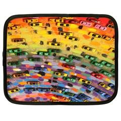 Car Painting Modern Art Netbook Case (XL)
