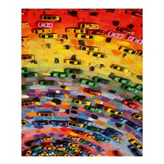 Car Painting Modern Art Shower Curtain 60  X 72  (medium)