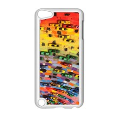 Car Painting Modern Art Apple Ipod Touch 5 Case (white)