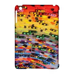 Car Painting Modern Art Apple Ipad Mini Hardshell Case (compatible With Smart Cover)