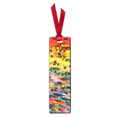 Car Painting Modern Art Small Book Marks