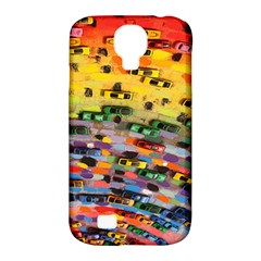 Car Painting Modern Art Samsung Galaxy S4 Classic Hardshell Case (pc+silicone)