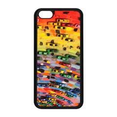 Car Painting Modern Art Apple Iphone 5c Seamless Case (black)
