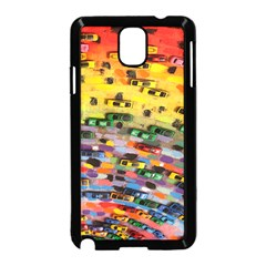 Car Painting Modern Art Samsung Galaxy Note 3 Neo Hardshell Case (black)