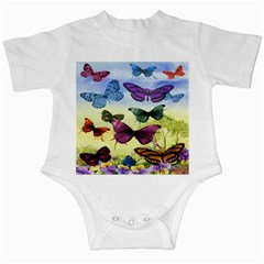Butterfly Painting Art Graphic Infant Creepers