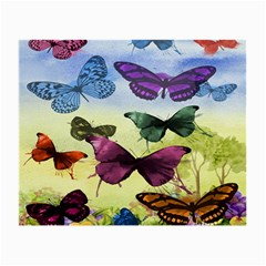 Butterfly Painting Art Graphic Small Glasses Cloth