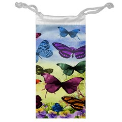 Butterfly Painting Art Graphic Jewelry Bag