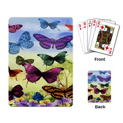 Butterfly Painting Art Graphic Playing Card
