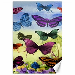 Butterfly Painting Art Graphic Canvas 20  x 30