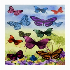 Butterfly Painting Art Graphic Medium Glasses Cloth