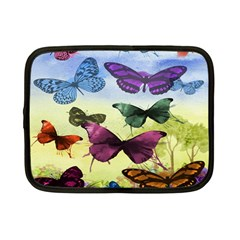 Butterfly Painting Art Graphic Netbook Case (small)