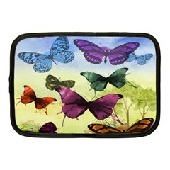 Butterfly Painting Art Graphic Netbook Case (medium)