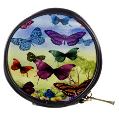 Butterfly Painting Art Graphic Mini Makeup Bags