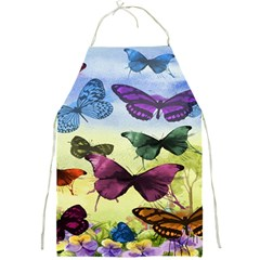 Butterfly Painting Art Graphic Full Print Aprons