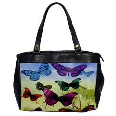 Butterfly Painting Art Graphic Office Handbags