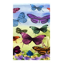 Butterfly Painting Art Graphic Shower Curtain 48  x 72  (Small)