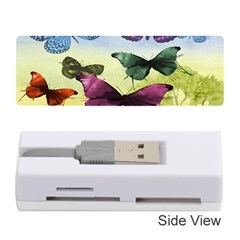 Butterfly Painting Art Graphic Memory Card Reader (Stick)