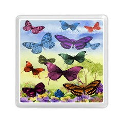 Butterfly Painting Art Graphic Memory Card Reader (square)