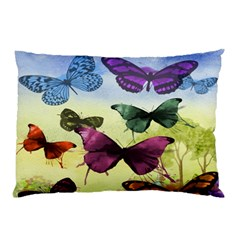 Butterfly Painting Art Graphic Pillow Case (Two Sides)