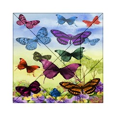 Butterfly Painting Art Graphic Acrylic Tangram Puzzle (6  X 6 )