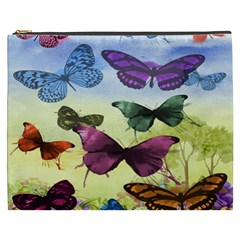 Butterfly Painting Art Graphic Cosmetic Bag (XXXL)