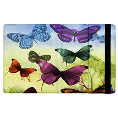 Butterfly Painting Art Graphic Apple Ipad 3/4 Flip Case
