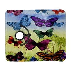 Butterfly Painting Art Graphic Galaxy S3 (flip/folio)