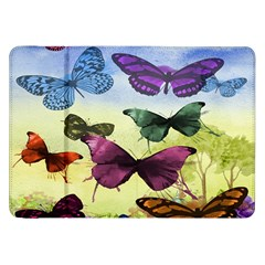 Butterfly Painting Art Graphic Samsung Galaxy Tab 8.9  P7300 Flip Case
