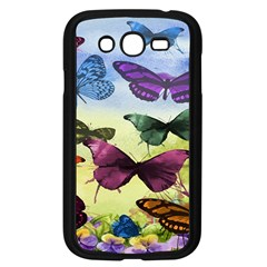 Butterfly Painting Art Graphic Samsung Galaxy Grand Duos I9082 Case (black)
