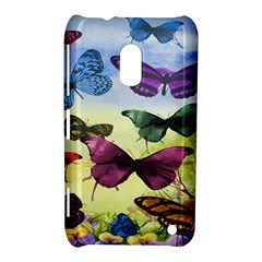 Butterfly Painting Art Graphic Nokia Lumia 620