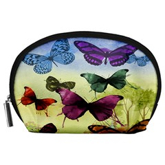 Butterfly Painting Art Graphic Accessory Pouches (large)