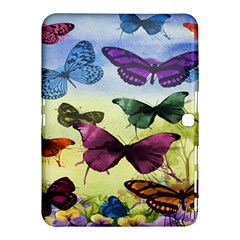 Butterfly Painting Art Graphic Samsung Galaxy Tab 4 (10 1 ) Hardshell Case