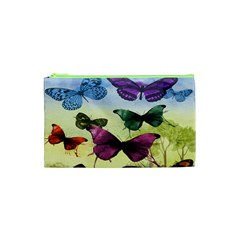 Butterfly Painting Art Graphic Cosmetic Bag (xs)