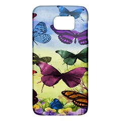 Butterfly Painting Art Graphic Galaxy S6