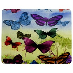 Butterfly Painting Art Graphic Jigsaw Puzzle Photo Stand (Rectangular)